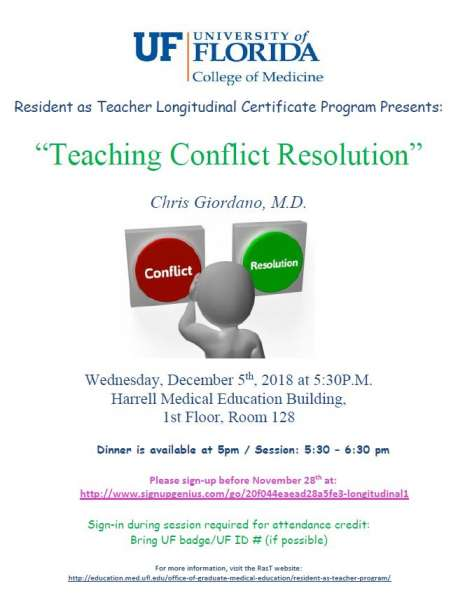 Teaching Conflict