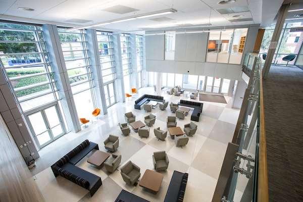 Harrell Medical Education Building Atrium