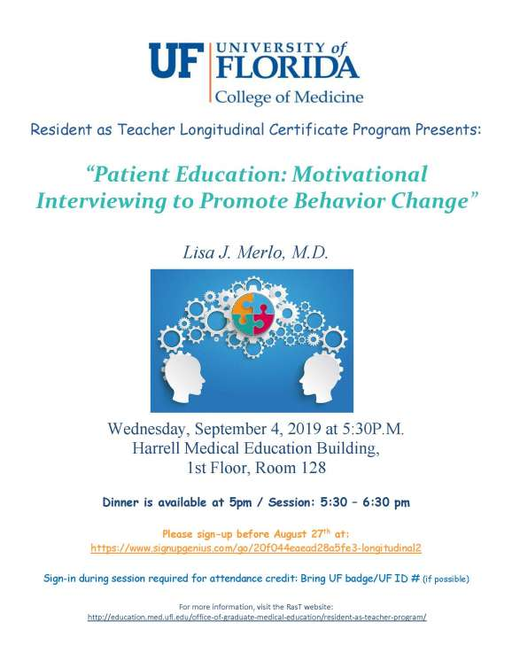 Longitudinal RasT Session Announcement