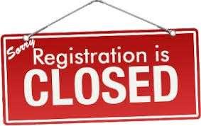 Closed registration
