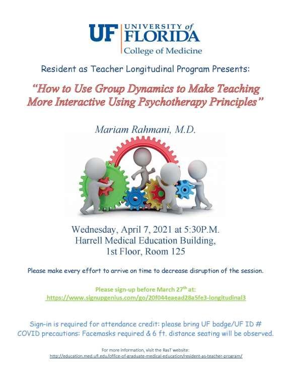 Psychotherapy Principles - Flier Annnouncement